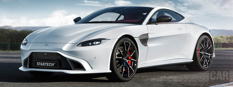 Car tuning desktop wallpapers Startech Aston Martin Vantage - 2019 - Car wallpapers