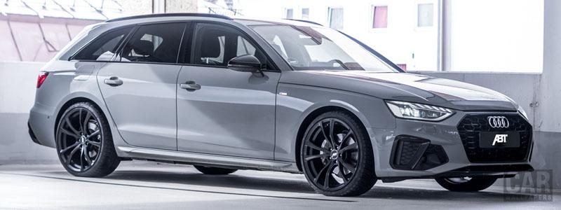 Car tuning desktop wallpapers ABT Audi A4 Avant - 2020 - Car wallpapers