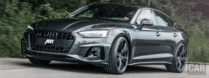 Car tuning desktop wallpapers ABT Audi A5 Sportback 40 TDI quattro S line - 2020 - Car wallpapers