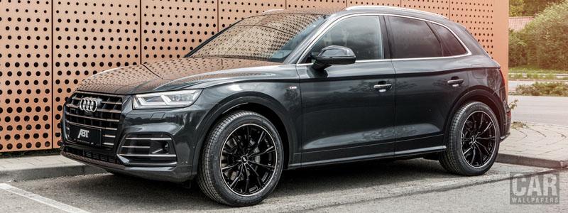 Car tuning desktop wallpapers ABT Audi Q5 55 TFSI e quattro - 2020 - Car wallpapers