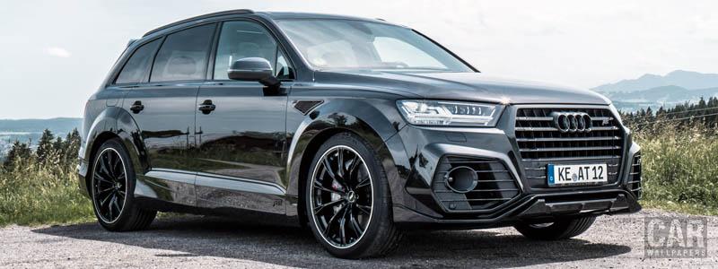 Car tuning desktop wallpapers ABT Audi Q7 50 TDI - 2019 - Car wallpapers