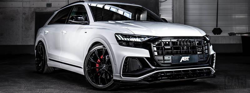 Car tuning desktop wallpapers ABT Audi Q8 50 TDI - 2019 - Car wallpapers