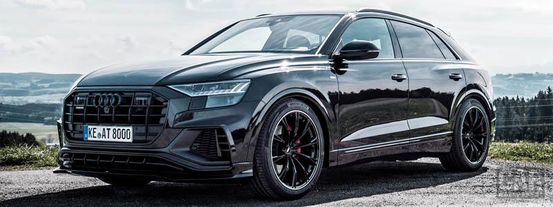 Car tuning desktop wallpapers ABT Audi Q8 - 2019 - Car wallpapers