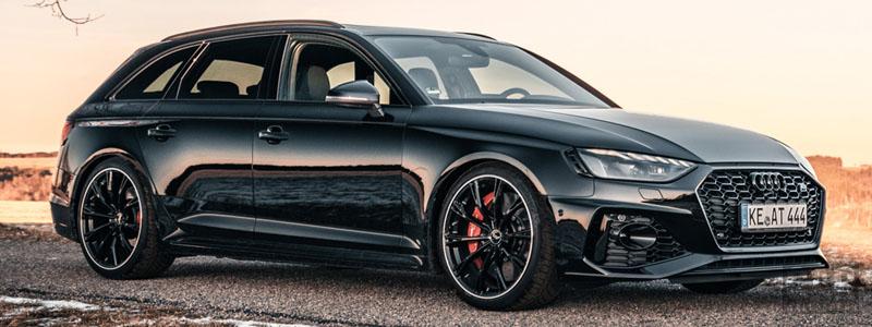 Car tuning desktop wallpapers ABT Audi RS4 Avant - 2020 - Car wallpapers