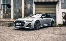 Car tuning desktop wallpapers ABT Audi RS6 Avant - 2020