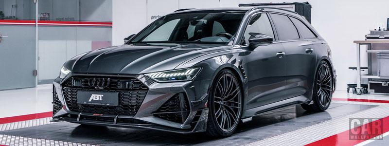 Car tuning desktop wallpapers ABT RS6-R Audi RS6 Avant - 2020 - Car wallpapers