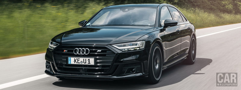 Car tuning desktop wallpapers ABT Audi S8 - 2020 - Car wallpapers