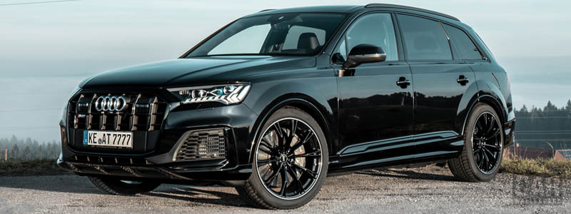 Car tuning desktop wallpapers ABT Audi SQ7 TDI - 2019 - Car wallpapers
