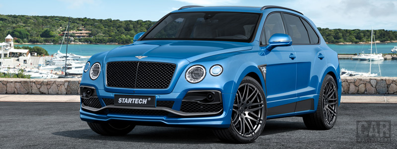 Car tuning desktop wallpapers Startech Bentley Bentayga - 2016 - Car wallpapers