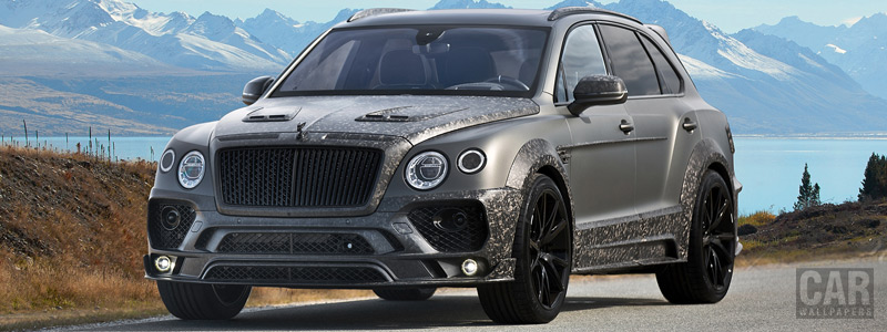 ���� ������ ���� Mansory Bentley Bentayga Black Edition - 2017 - Car wallpapers