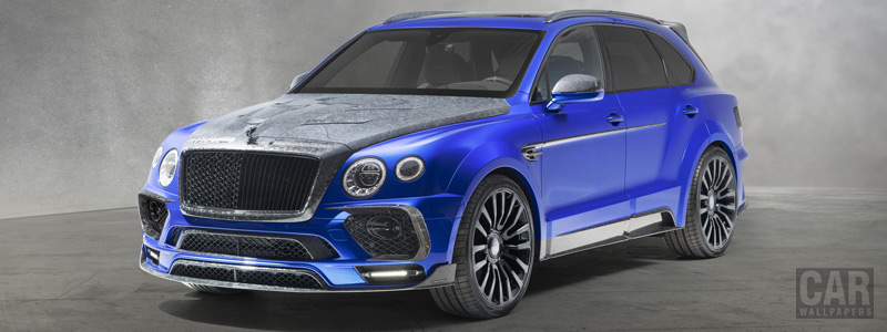 Car tuning desktop wallpapers Mansory Bentley Bentayga Bleurion Edition - 2018 - Car wallpapers