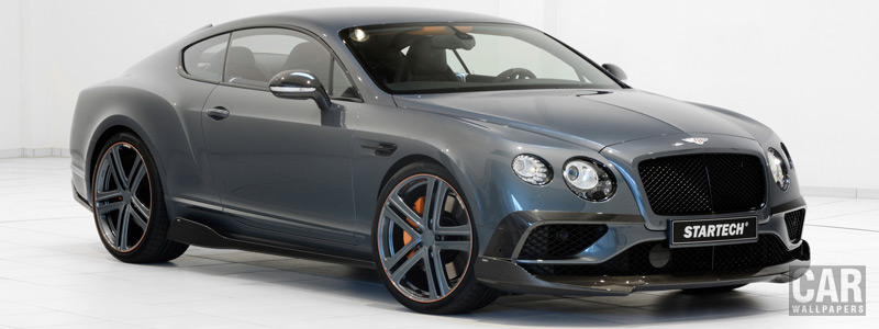 Car tuning desktop wallpapers Startech Bentley Continental GT V8 Speed - 2016 - Car wallpapers