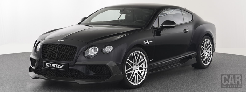 Car tuning desktop wallpapers Startech Bentley Continental GT V8 Speed - 2017 - Car wallpapers