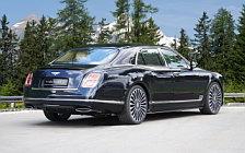 Car tuning desktop wallpapers Mansory Bentley Mulsanne Extended Wheelbase - 2017