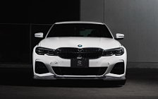 Car tuning desktop wallpapers 3D Design BMW 320i M Sport G20 - 2019