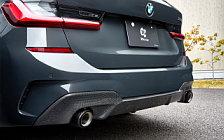Car tuning desktop wallpapers 3D Design BMW 330i Touring G21 - 2020