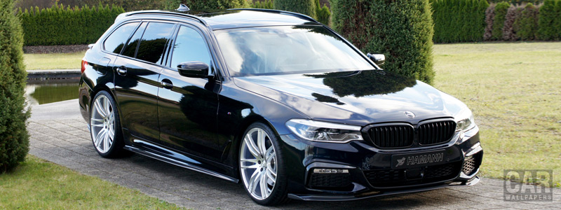 Car tuning desktop wallpapers Hamann BMW 5 Series M version - 2018 - Car wallpapers