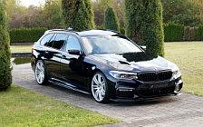 Car tuning desktop wallpapers Hamann BMW 5 Series M version - 2018