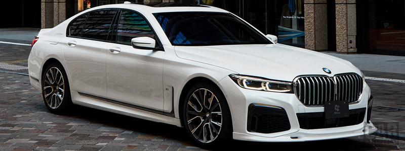 Car tuning desktop wallpapers 3D Design BMW 740i M Sport G11 - 2020 - Car wallpapers