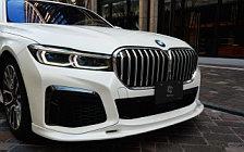 Car tuning desktop wallpapers 3D Design BMW 740i M Sport G11 - 2020