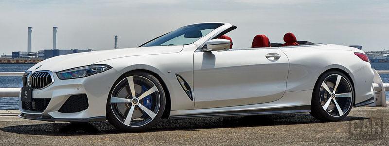 Car tuning desktop wallpapers 3D Design BMW M850i xDrive Cabrio G14 - 2020 - Car wallpapers