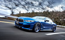 Car tuning desktop wallpapers 3D Design BMW M850i xDrive Coupe G15 - 2020