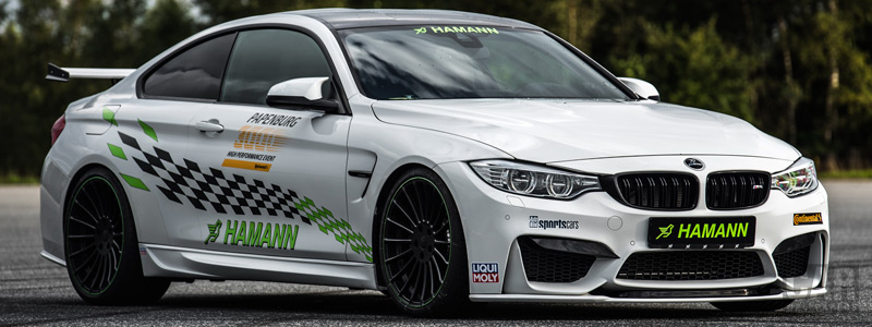 Car tuning desktop wallpapers Hamann BMW M4 Coupe - 2017 - Car wallpapers