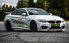 Car tuning desktop wallpapers Hamann BMW M4 Coupe - 2017