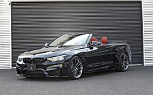 Car tuning desktop wallpapers 3D Design BMW M4 Cabrio F83 - 2019
