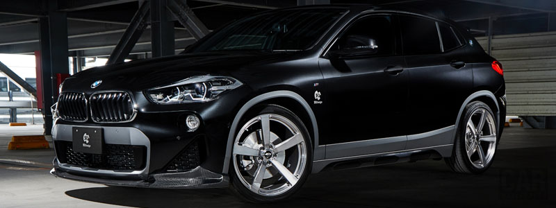 Car tuning desktop wallpapers 3D Design BMW X2 F39 - 2019 - Car wallpapers