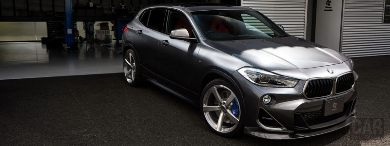 Car tuning desktop wallpapers 3D Design BMW X2 M35i F39 - 2019 - Car wallpapers