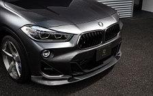 Car tuning desktop wallpapers 3D Design BMW X2 M35i F39 - 2019