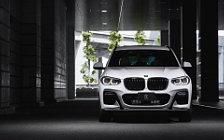 Car tuning desktop wallpapers 3D Design BMW X3 xDrive20d G01 - 2019