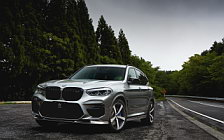 Car tuning desktop wallpapers 3D Design BMW X3 M Competition F97 - 2020