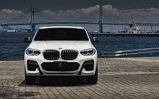 Car tuning desktop wallpapers 3D Design BMW X4 M40i G02 - 2019