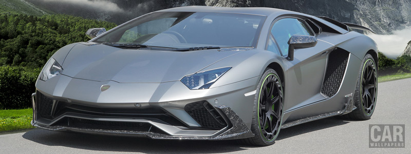���� ������ ���� Mansory Lamborghini Aventador S - 2018 - Car wallpapers
