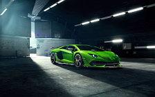 Car tuning desktop wallpapers Novitec Lamborghini Aventador SVJ - 2019