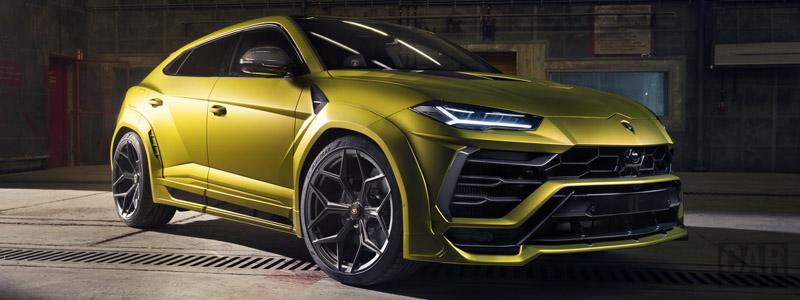 Car tuning desktop wallpapers Novitec Lamborghini Urus Esteso - 2019 - Car wallpapers