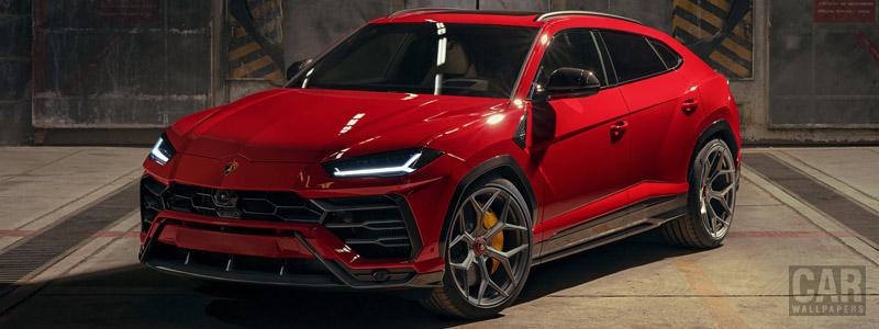 Car tuning desktop wallpapers Novitec Lamborghini Urus - 2019 - Car wallpapers