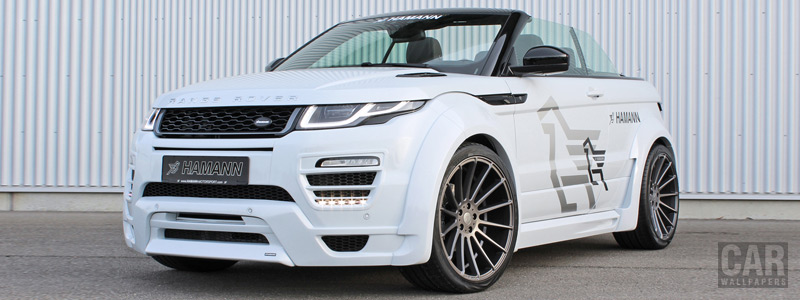 Car tuning desktop wallpapers Hamann Range Rover Evoque Convertible - 2017 - Car wallpapers