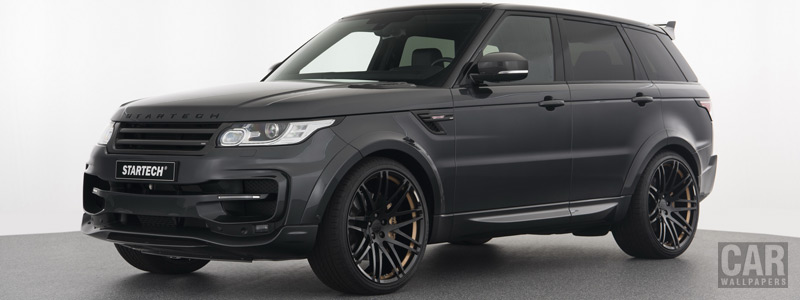 Car tuning desktop wallpapers Startech Widebody Range Rover Sport - 2017 - Car wallpapers