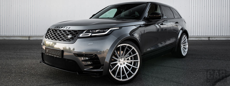 Car tuning desktop wallpapers Hamann Range Rover Velar R-Dynamic - 2018 - Car wallpapers