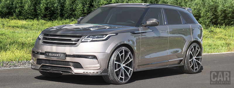 Car tuning desktop wallpapers Mansory Range Rover Velar - 2018 - Car wallpapers