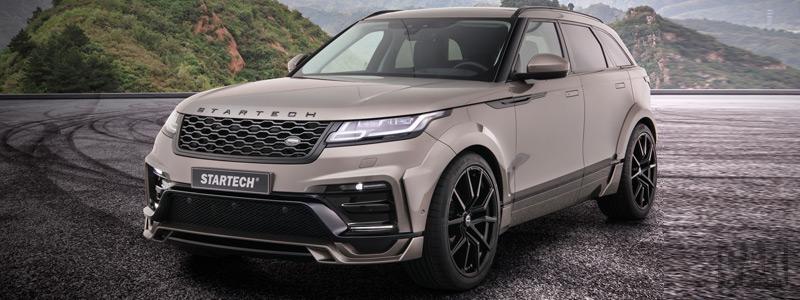 Car tuning desktop wallpapers Startech Range Rover Velar - 2018 - Car wallpapers