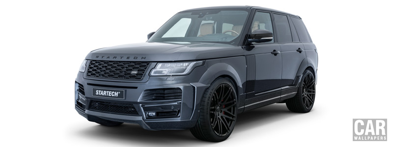 Car tuning desktop wallpapers Startech Widebody Range Rover - 2018 - Car wallpapers