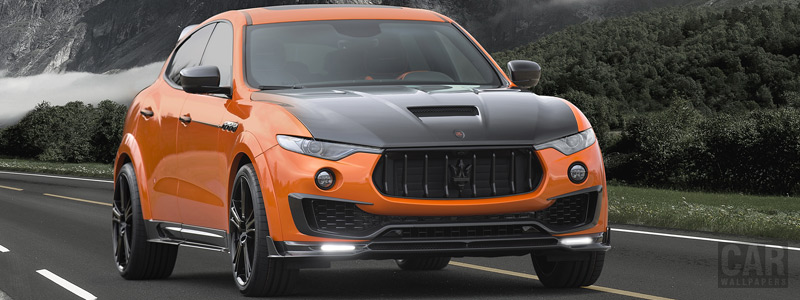 ���� ������ ���� Mansory Maserati Levante - 2017 - Car wallpapers
