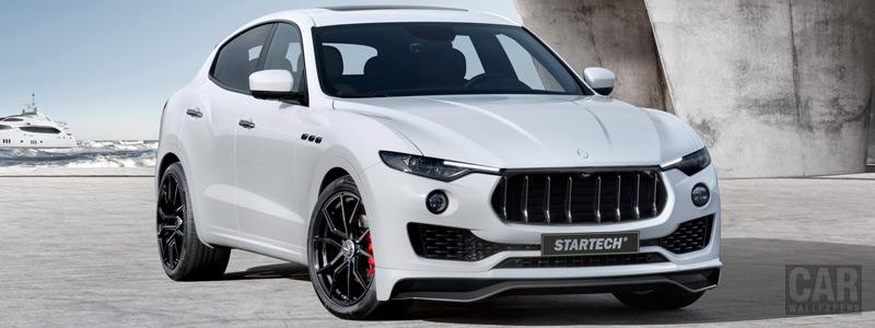 Car tuning desktop wallpapers Startech Maserati Levante - 2017 - Car wallpapers