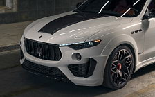 Car tuning desktop wallpapers Novitec Maserati Levante SQ4 GranSport Esteso V2 - 2020