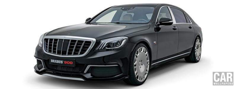 Car tuning desktop wallpapers Brabus 900 Mercedes-Maybach S 650 - 2018 - Car wallpapers