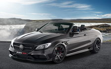 Car tuning desktop wallpapers Brabus 650 Cabrio Mercedes-AMG C 63 S Cabriolet - 2017